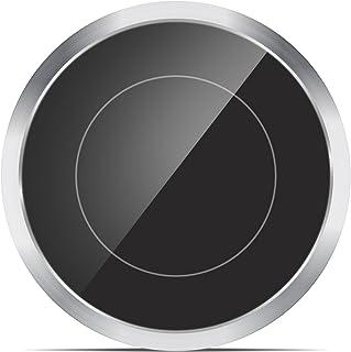 Popsky Qi ワイヤレス充電器 置くだけ充電 iPhone XS/XS Max/XR / X / 8/8 Plus、Galaxy Note8/S9 / S9+ / S8 / S8+、Nexus等対応 ワイヤレスチャージャー Qi対応機種 薄型 無接点充電器 qi 無線充電器 Wireless Charger (シルバー)