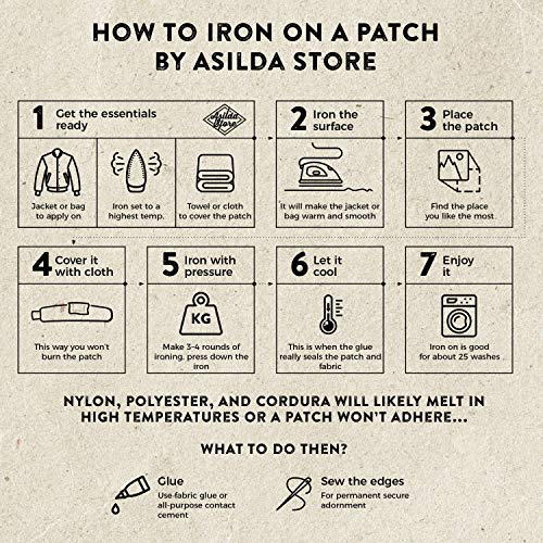 Asilda Store Embroidered Sew or Iron-on Patch (You Can't Delegate Thinking)