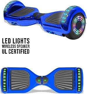 Best hoverboard indicator lights Reviews