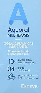 comprar comparacion Aquoral Multidosis Gotas Oftalmologicas Lubricantes, 10 ml