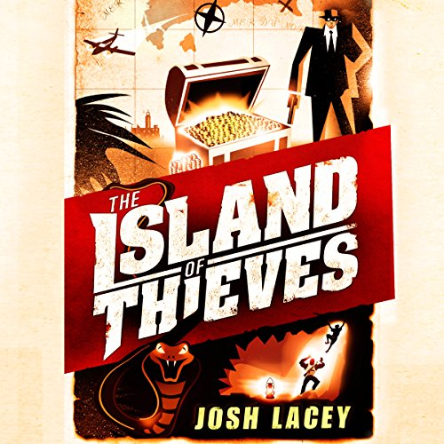 The Island of Thieves audiobook cover art