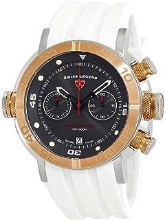 Swiss Legend Aqua Diver Chronograph Men's Watch SL-10622SM-SR-014-WHT