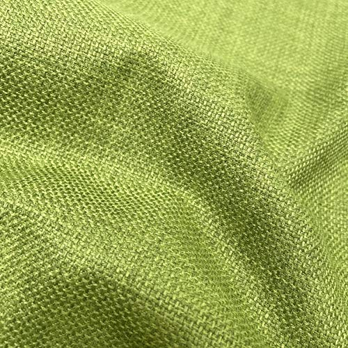 LIME GREEN SOFT PLAIN LINEN LOOK HOME ESSENTIAL DESIGNER LINOSO CURTAIN CUSHION SOFA BLIND UPHOLSTERY FABRIC MATERIAL SOLD BY THE METRE
