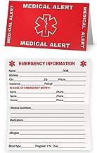 Best medical emergency wallet card Reviews