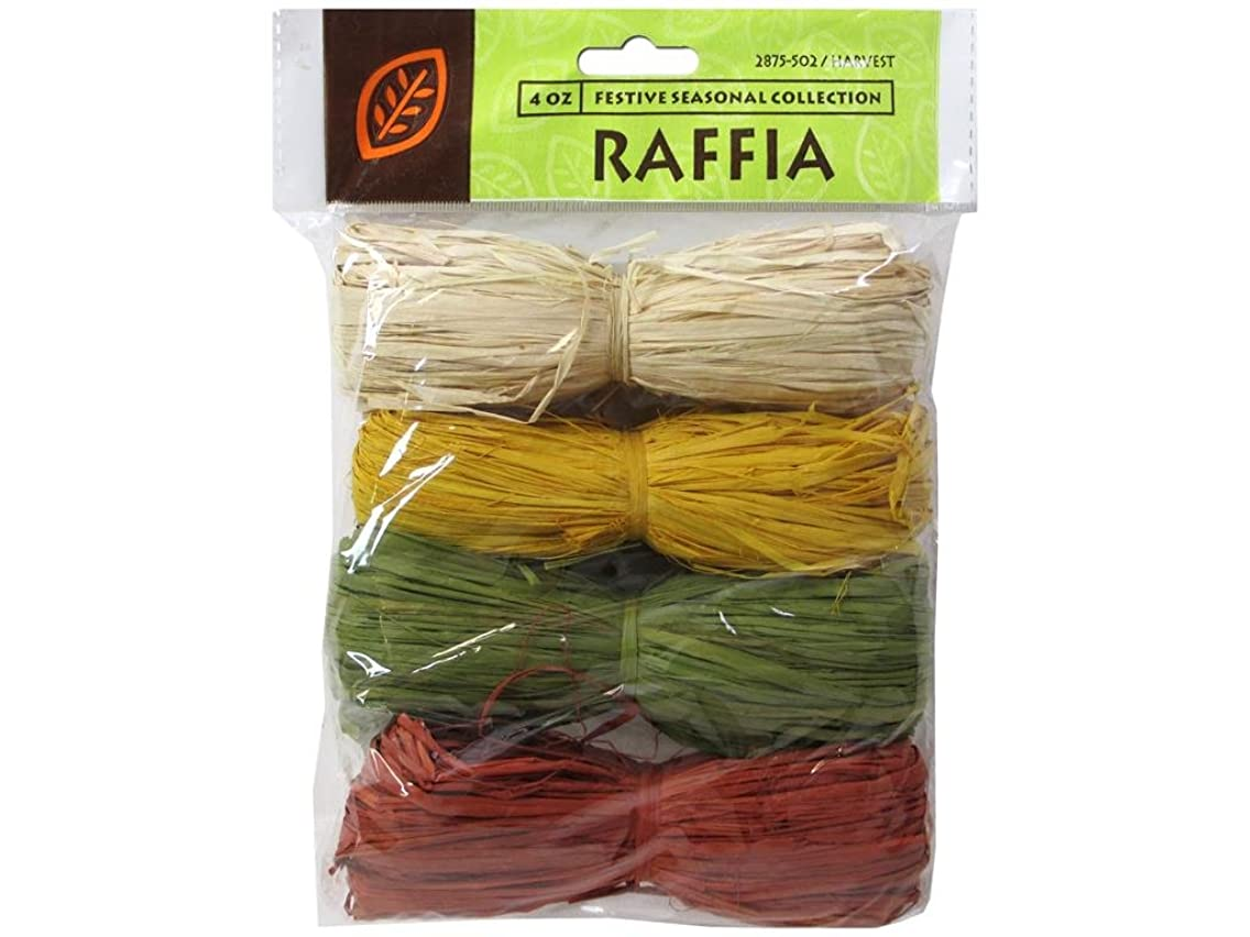 Joseph M Stern Raffia Jms Raffia Harvest Collection 4Color Total 4oz Coll