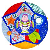 TOMY Lamaze | TOY STORY - Tapis d'Éveil 'Tourne et Explore' L27277, Tapis d'Éveil Bébé, Jeu Premier Âge Multi-Activités, pour l'Éveil de Bébé, dès la Naissance, Multicolore