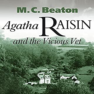 Agatha Raisin and the Vicious Vet cover art