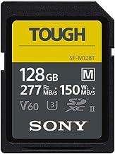 Sony TOUGH-M series SDXC UHS-II Card 128GB, V60, CL10,...