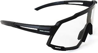 Brown Labrador Gafas Ciclismo polarizadas, fotocromáticas con 6 Lentes Intercambiables UV 400. Gafas Deportivas, Running Trail Running, Ciclismo BTT, para Hombre y Mujer
