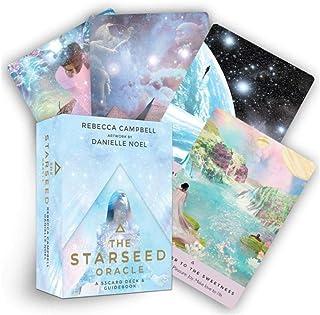 53英語スターシードオラクルタロット楽しいゲームカードセットボードゲームカード家族の集まりのためのゲーム