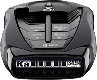 Cobra RAD 480i Laser Radar Detector – Long Range Detection, Bluetooth, iRadar App, LaserEye Front and Rear Detection, Next...