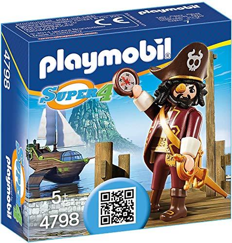Playmobil Difficile À Trouver - 4798-Barbe De Requin Super4