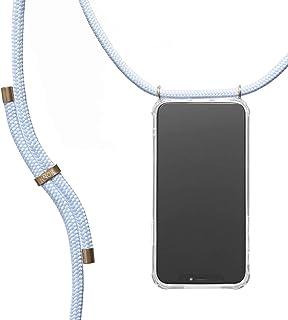 KNOK Funda con Cuerda para Huawei Mate 20 Lite - Funda Colgante para movil Carcasa - Colgar movil Cuello Funda con Correa Colgante con Cordon para Llevar en el Cuello