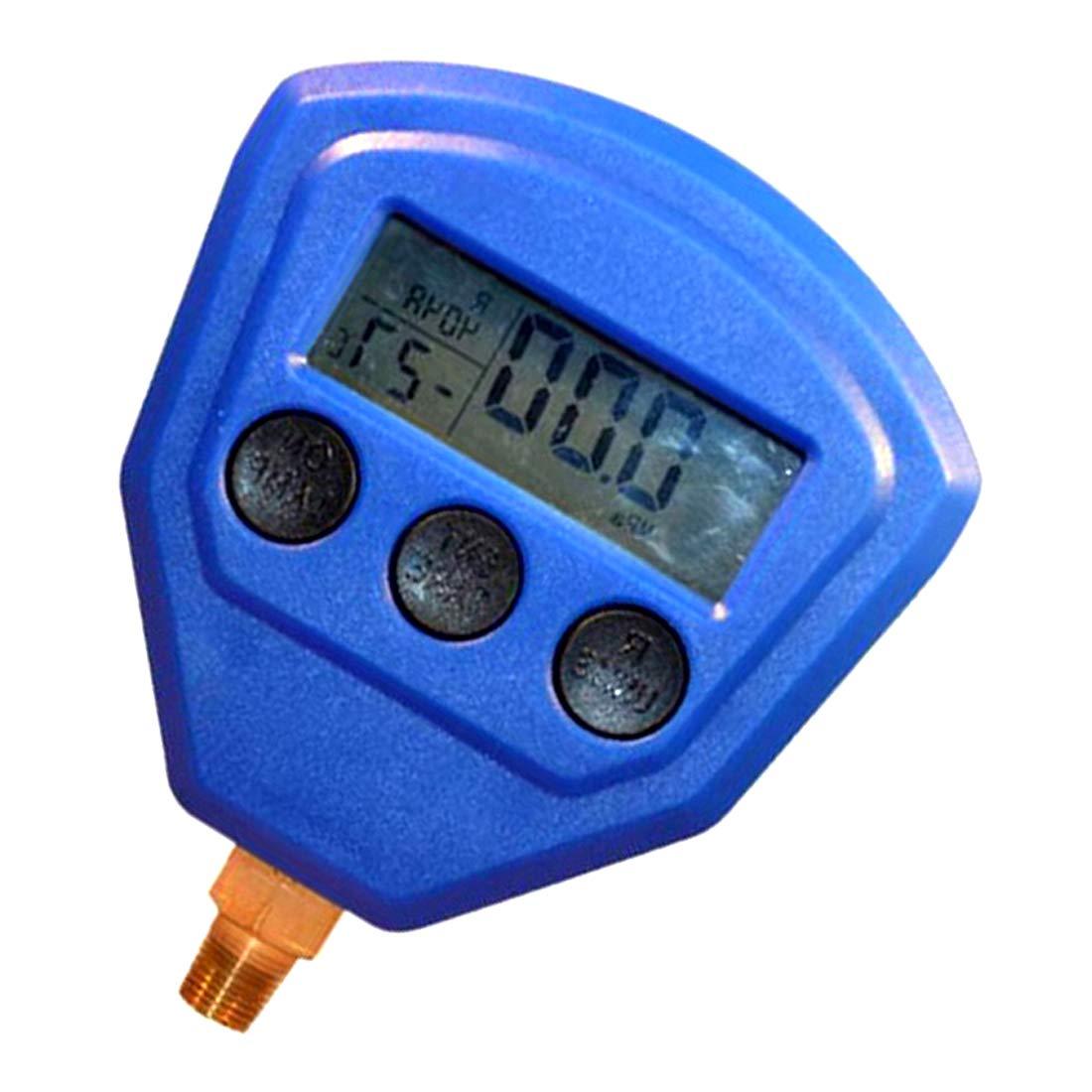 VIGORFLYRUN PARTS LTD R410A R134A R22 Aire Acondicionado Refrigerante Medidor de Alta presi/ón PSI KPA Medidor de presi/ón de refrigeraci/ón Refrigerante Rojo