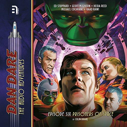 Dan Dare: Prisoners of Space audiobook cover art