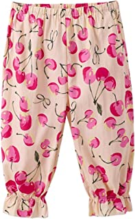 768690fd Tootu Toddler Kids Baby Girls Lemon Printing Loose Casual Pants Leggings  Trousers