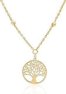 Tala | Collana Oro Donna | Collana Albero della Vita | Oro 14K | Peso gr 2