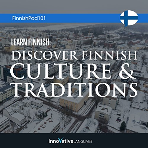 Learn Finnish audiobook cover art