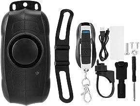 Rupse Kit de Syst/ème dAlarme de Vibration S/écurit/é Anti-Vol Moto Scooter Fen/être Porte Entr/ée sans Fil avec T/él/écommande et Batterie 9V
