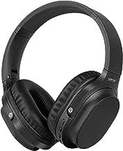 Betron AMT30 Wireless Headphones, Foldable, Over Ear, Bass Driven Sound - Black