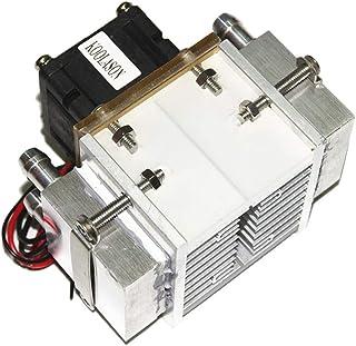 Xiaolizi DC12V 108W electrónico semiconductor Peltier Refrigeración Congelador pequeño Espacio de Aire Acondicionado refrigeración por Agua del radiador de Aluminio