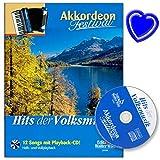 Hits de la música popular – acordeón Festival – Autor: Arturo Himmer – Acordeón notas con CD y colorido clip en forma de corazón