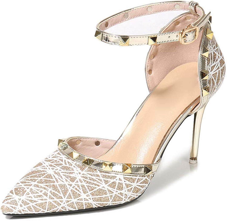 Kyle Walsh Pa Women Fashion Pumps Sexy Stiletto Pointed Toe Ankel Strap Ladies Elegant shoes