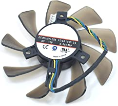 FD9015U12S DC12V 4Pin 85mm Brushless Cooling Fans For Sapphire HD 7770 7750 Graphics Card Cooler Fan
