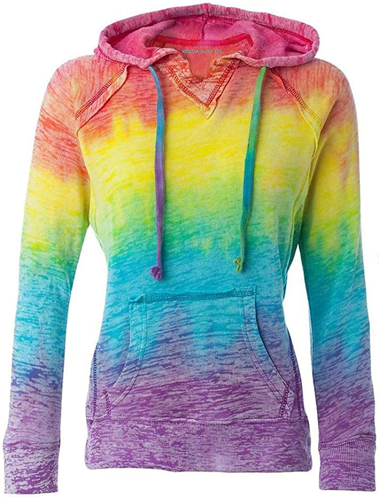 Koloa Surf Co. Womens V-Neck Same day shipping Sizes Hoodies sale S-2XL Burnout in