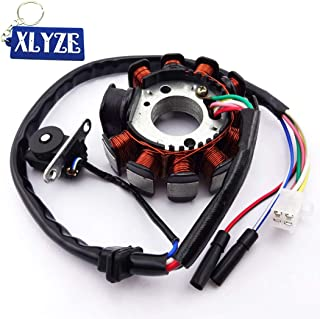 XLYZE 11 polos bobinas ignición estator Magneto para GY6 125cc 150cc Motor Scooter ciclomotor ATV Quad