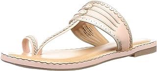 BATA Women's Scallop Kolahapuri Fashion Slippers