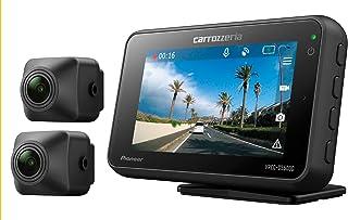 カロッツェリア(パイオニア) 前後2カメラ ドライブレコーダー VREC-DS500DC 高感度 高画質 前後200万画素 フルHD 駐車監視 対角142º GPS WDR 連続/衝撃/手動/駐車録画 1年保証 microSDカード(16GB)...