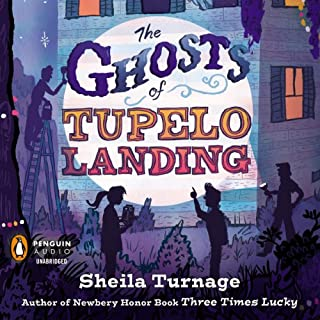 The Ghosts of Tupelo Landing audiobook cover art