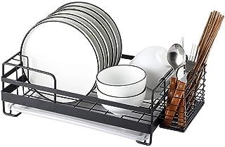 Rangement de cuisine, égouttoir idéal pour la vaisselle, verres, couverts, vaisselle pour une meilleure organisation avec ...