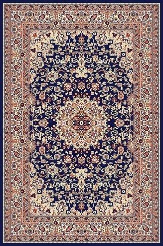 Tappeto Design classico 200x300 cm, Pura Lana, blu !!! (200 x 300)
