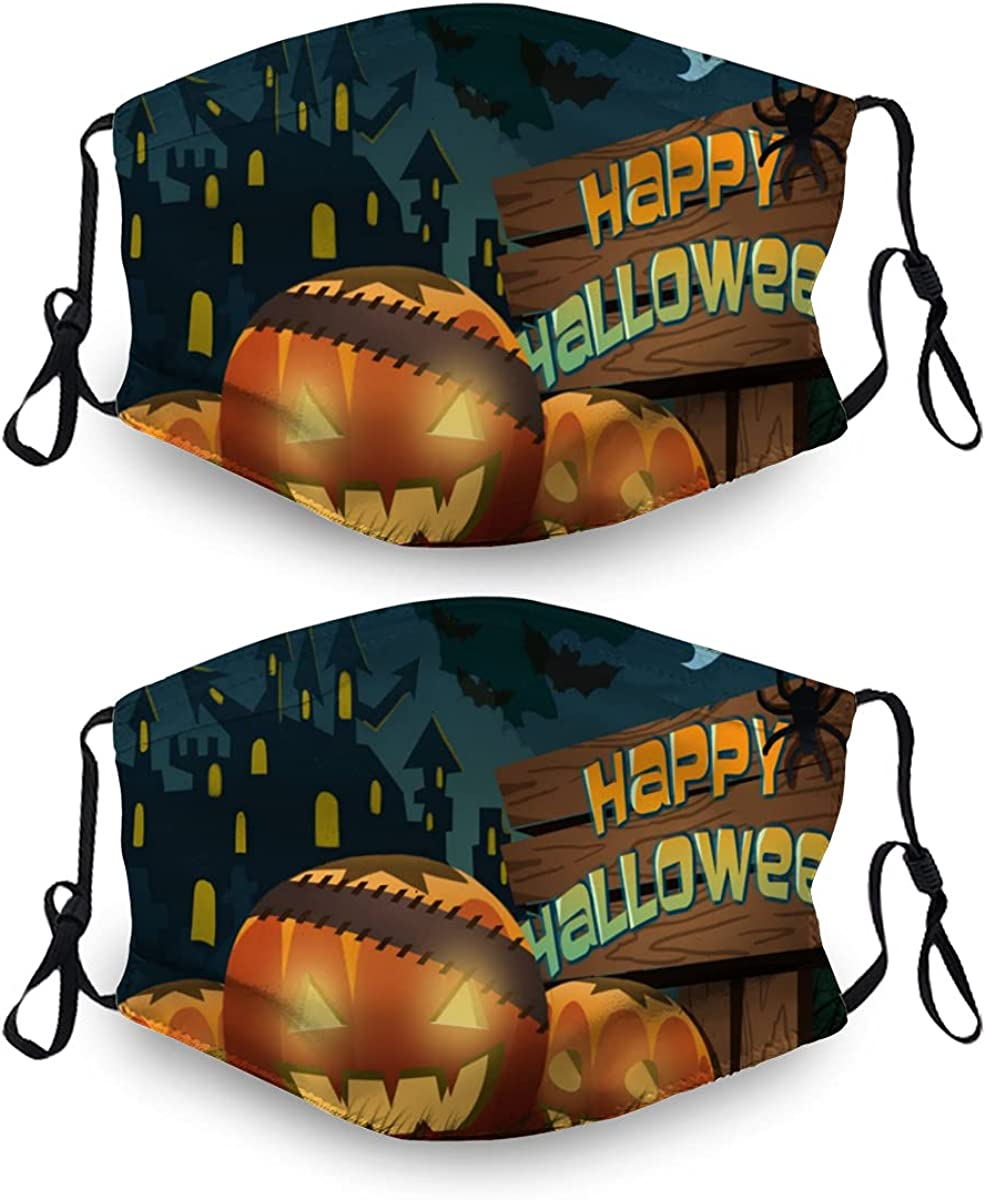 Max 89% OFF Halloween Ma-Sk Washable Dust Mask Reusable Sets Free shipping on posting reviews with 4 2 Filter
