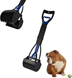 LoveSheRainbow Long Handle Portable Pet Dog Pooper Scooper