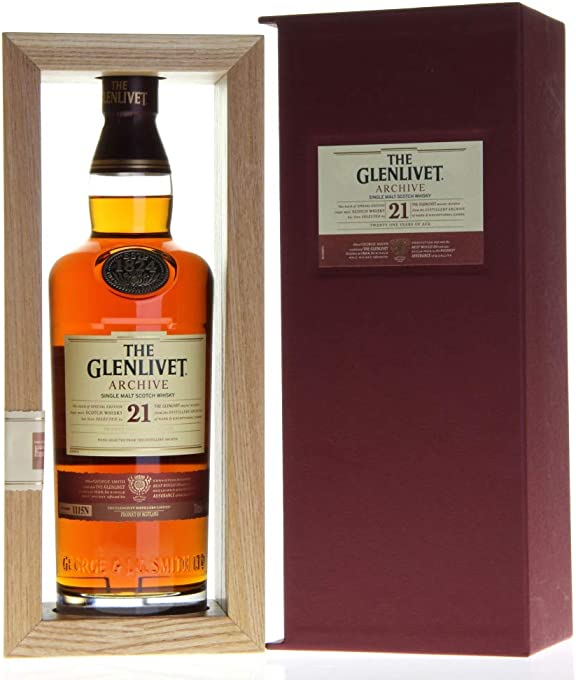 The Glenlivet Archive 21 Year Old Scotch Whisky 700mL