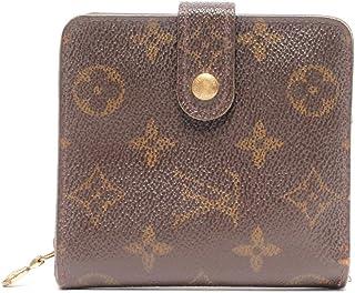 ルイヴィトン 二つ折り財布 コンパクト?ジップ モノグラム M61667 ユニセックス Louis Vuitton 中古
