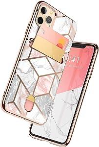 i-Blason Cosmo Wallet Slim Designer Wallet Case for Apple iPhone 11 Pro Max (2019), 6.5