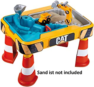 Theo Klein - CAT  Sand and Play Table Premium Toys for Kids Ages 3 Years & Up