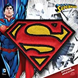 Simplicity tamaño Mediano diseño con Logotipo de Superman para Planchar, poliéster, Multicolor, 7.98X 0,2x 7.67cm