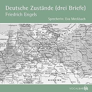 Deutsche Zustände (Drei Briefe) Titelbild