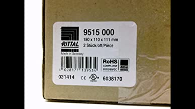 RITTAL 9515 000 - PACK OF 2 - POLYCARBONATE ENCLOSURE, 9515 000 - PACK OF 2 -