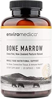 Enviromedica Freeze-Dried Bone Marrow Complex with Cartilage and MCHA Whole Bone from Grass-Fed Pastured New Zealand Bovin...