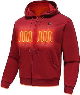 Sponsored Ad - Version2.0 Heated Hoodie for Men Women Cold Winter Fleece Electric Heating Sweatshirt