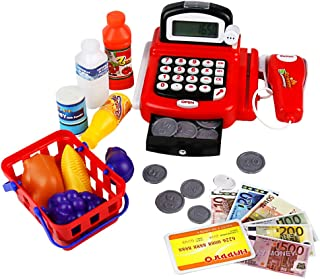 yoptote Caja Registradora Juguetes Supermercado Infantil