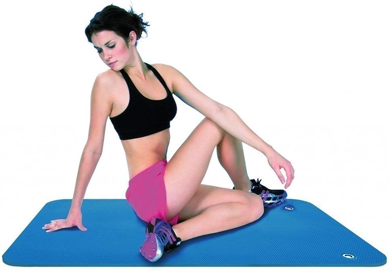 Comfortgym Matte   hochwertige Gymnastikmatte   Farbe  blau   Mae  140 x 60 cm   Gewicht  300 g