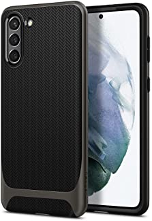 Spigen Neo Hybrid designed for Samsung Galaxy S21 case cover - Gunmetal
