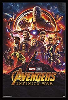 "Trends International Avengers: Infinity War-One Sheet Wall Poster, 24.25"" x 35.75"", Multicolor"